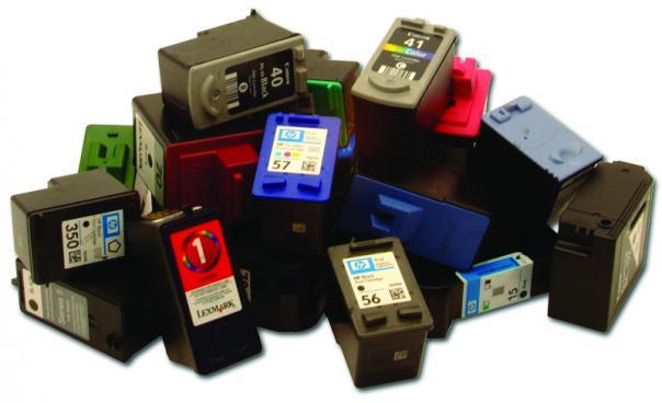spausdintuvų kasečių pildymas